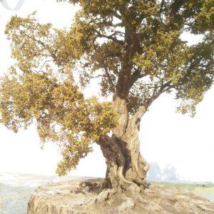 Clear leaf tree 45 cm