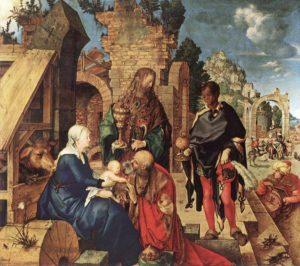 Paderno D'Adda natività ispirata al quadro di Albrecht Dürer