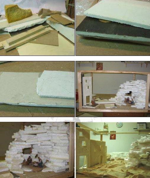 materiali per sagome presepi