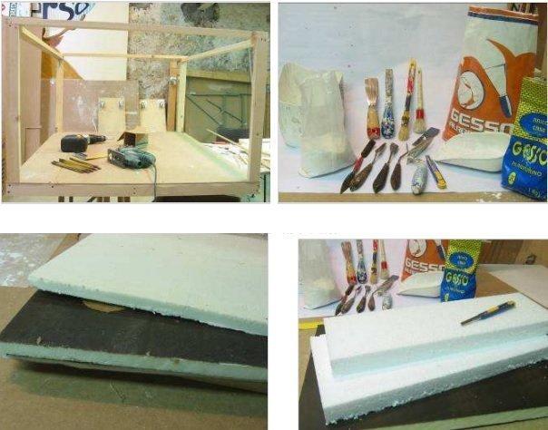 materiali per presepi