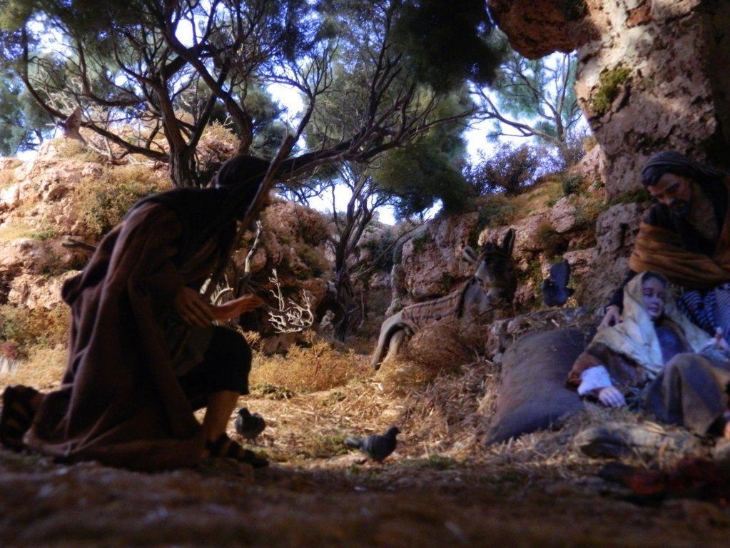 Dipingere Le Rocce Nel Presepe Effetto Palestinese Videocorsi Per