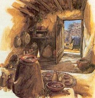 Pagina 6 dipinti disegni e spunti vari per il nostro for Case antiche interni