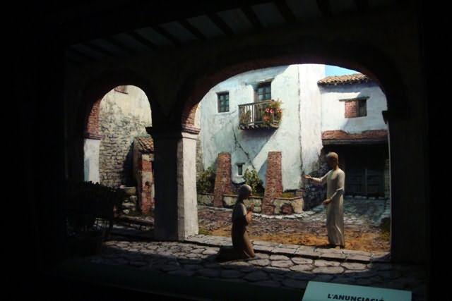 illuminazione diorama