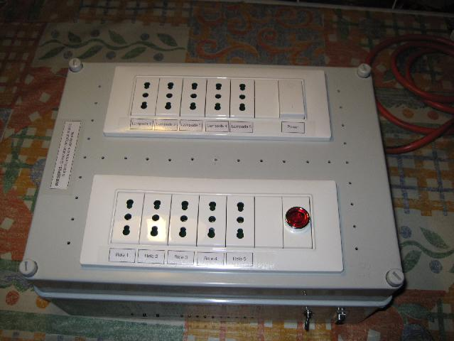 elettricità presepe