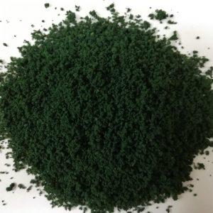 Erba grezza o foglie di cespuglio e chiome w35 verde scuro