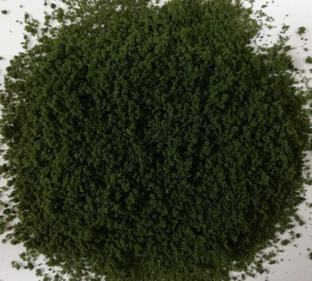 Erba grezza o foglie di cespuglio e chiome w12 Verde Conifera Diorama