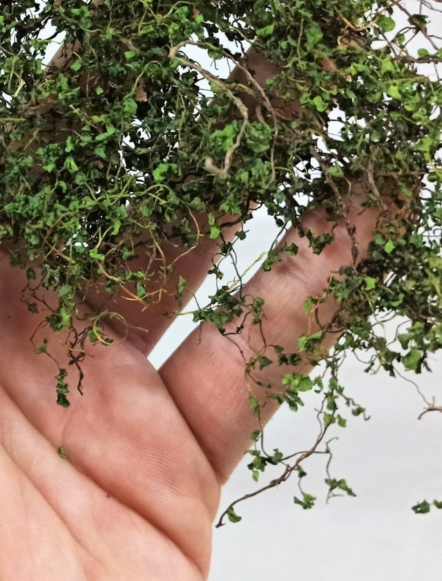 01 Professional miniature ivy for diorama or cribs Whole climber